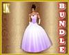Lavender BR gown bundle