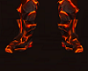 Magma Red Dragon Boots