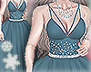 Holiday Ballgown Blue