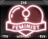 Feminist | Neon Sign