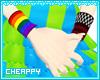 Pride + Emo Wristbands F
