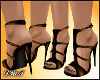 D- Liz Gold Sandals