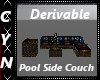 Derivable PoolSide Couch