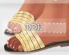 (BDK)gold, flats