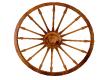 Wagon Wheel Deco