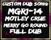 CUSTOM DUB - MOTLEY CRUE