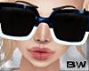 Blue W Tart Sunglasses Q