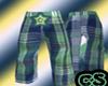 {CS}`Green Plaid Shortz`