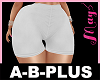 A-B-PLUS Bimbo Short WT