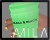 MB: BALENCIAGA GREEN LH