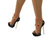 valentine heels black