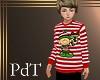 PdT StripedElf Sweater M
