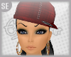 {SE} Red Plaid Hat F