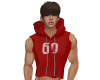 NV 69 Hoody Red