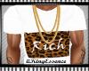 *K* White Cheetah Tee