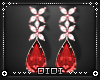 !D! Ruby Earrings