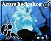 [Hie] Azure hedgehog M