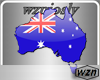 wzn Australia Flag Map