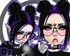 [DZ] Violet Dread Buns