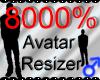 *M* Avatar Scaler 8000%