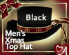.a Holiday Top Hat - BLK