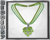 Green Ivy Necklace
