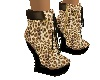 LV@ Animal Boots Leopard