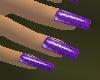 !HC! Daisy Nails Purple