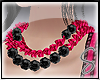 [Sev] Chained Neck Pink