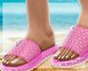 🌊 JELLY Slides Pink