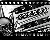 Black Metal Bracelet L