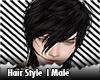 Undercut Hair Emo men's