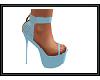 {G} Light Blue Heels