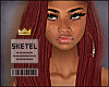 $] Janey Microlocs Red