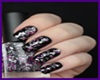 ^.Black Reflect Nails.^