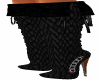 Black Scale J Boots