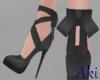 #A V Babe Heels #BK