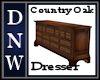 Country Oak Dresser