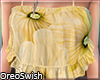 Frilly Cami Yellow