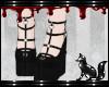 FOX black heels cute