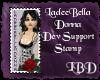 LBD Dev Support Stamp