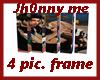 4 pic frame