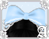 Headdress Bow~ Blue