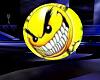 Smiley evil button avi M