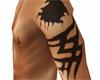 Custom tattoo arm