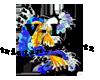 Koi w/colors V-L