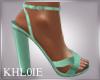 K green spring heels