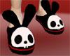 Skele-Bunny Slippers