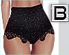 B►Glitter Crochet Pant