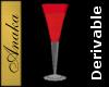 Crystal Goblet, Red